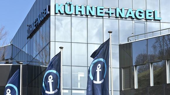 Kühne+Nagel erzielt im ersten Quartal einen leicht tieferem Reingewinn. (Archiv)