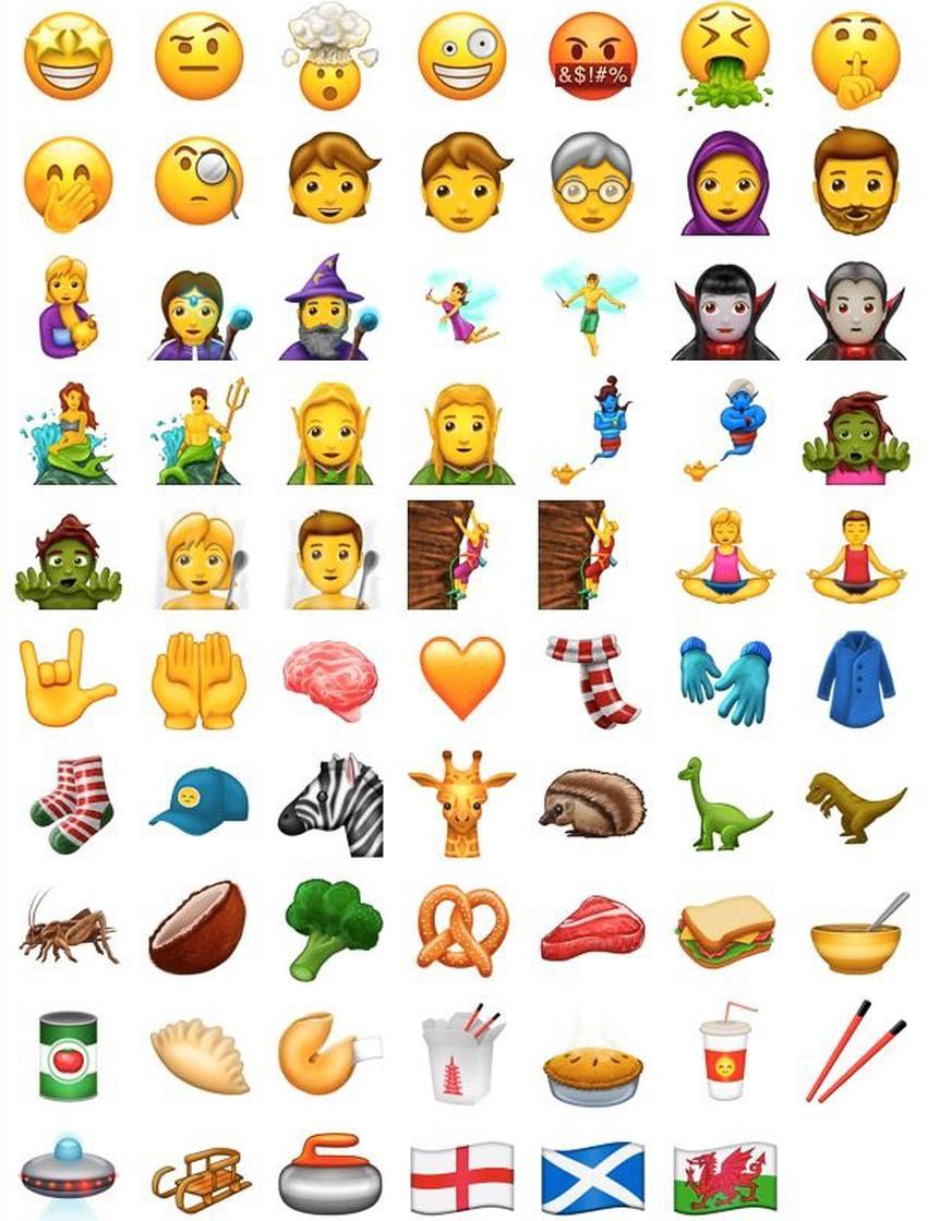 Neue Emojis Das Sind Die 69 Neuen Emojis Für Whatsapp Co Watson