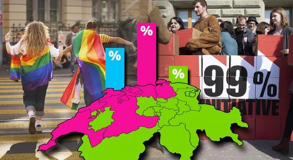 Die Abstimmungsresultate vom Sonntag: So hat die Schweiz abgestimmt