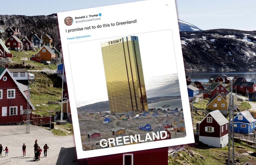 Ganz Grönland reibt sich gerade die Augen – wegen diesem Trump-Tweet
