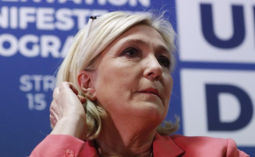 Le Pen verbündet sich mit Rechtspopulisten-Bündnis von Salvini