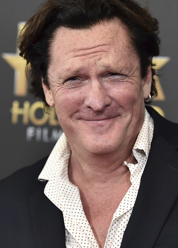 "CORRECTS TO MADSEN PLEADED NO CONTEST, INSTEAD OF PLEADED GUILTY  FILE - In this Nov. 1, 2015 file photo, Michael Madsen arrives at the Hollywood Film Awards at the Beverly Hilton Hotel in Beverly Hills, Calif. Madsen has pleaded no contest to misdemeanor drunken driving after crashing his SUV into a pole in Malibu, Calif., in March 2019. The ""Reservoir Dogs"" actor was sentenced Thursday, Aug. 15, 2019, to four days in jail, and five years' probation. (Photo by Jordan Strauss/Invision/AP, File)Michael Madsen"