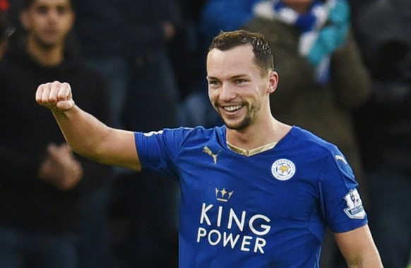 Football Soccer - Leicester City v Stoke City - Barclays Premier League - King Power Stadium - 23/1/16Danny Drinkwater celebrates after scoring the first goal for LeicesterAction Images via Reuters / Paul BurrowsLivepicEDITORIAL USE ONLY. No use with unauthorized audio, video, data, fixture lists, club/league logos or
