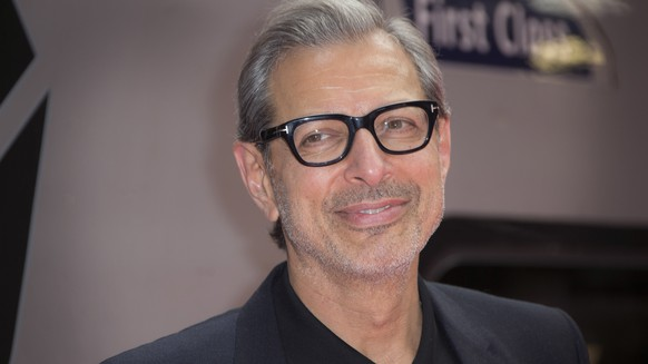 FILE - In this June 6, 2016, file photo, actor Jeff Goldblum poses for photographers at the photo call for the film Independence Day Resurgence at Euston Station in London. The Hollywood Reporter said on April 25,2017 that Goldblum would return to the Jurassic Park franchise for the upcoming sequel to 2015's