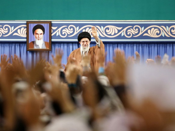 IRAN PROTESTS KHAMENEI