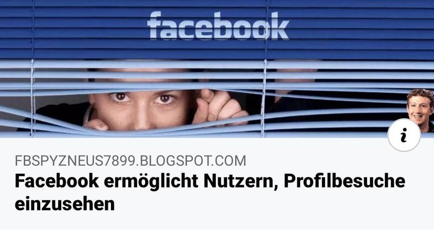 Facebook Sehen Wer Profil Besucht