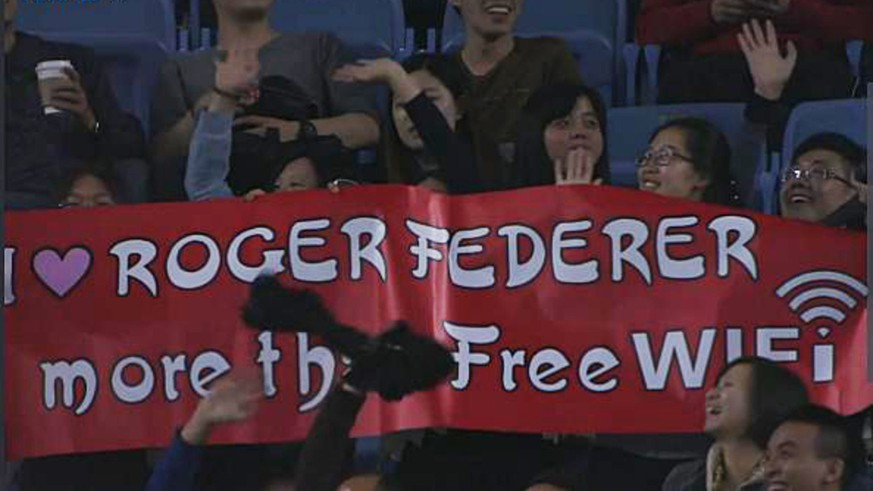 I Love Roger Federer More Than Free Wifi