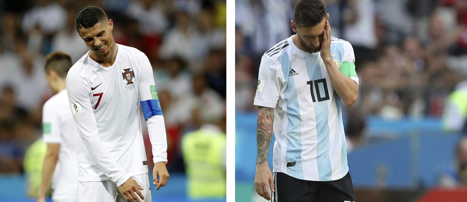 Ronaldo spricht über Rücktritt – Messi schweigt watson