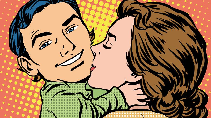 Gesichtserkennung Dating-Website