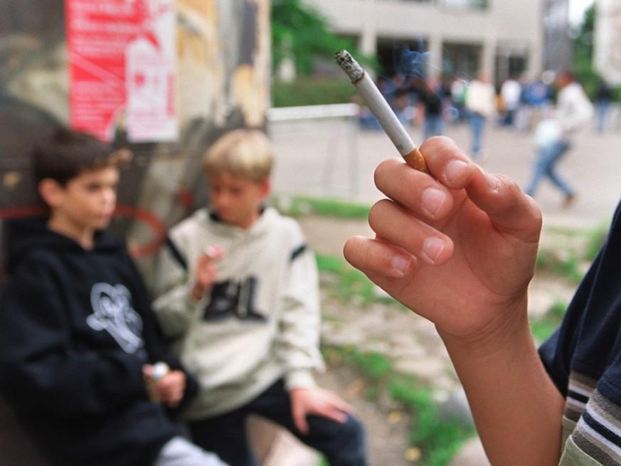 Rauchen in den USA erst ab 21 Jahren