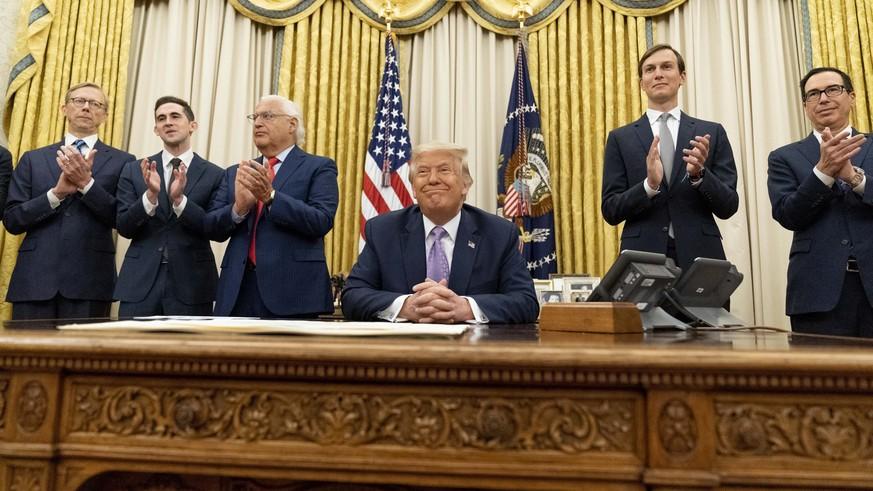 Historisches Abkommen: «Trump wird als grosser Friedensstifter in die Geschichte eingehen»