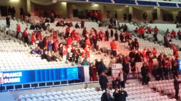 Schweizer Fans Lille