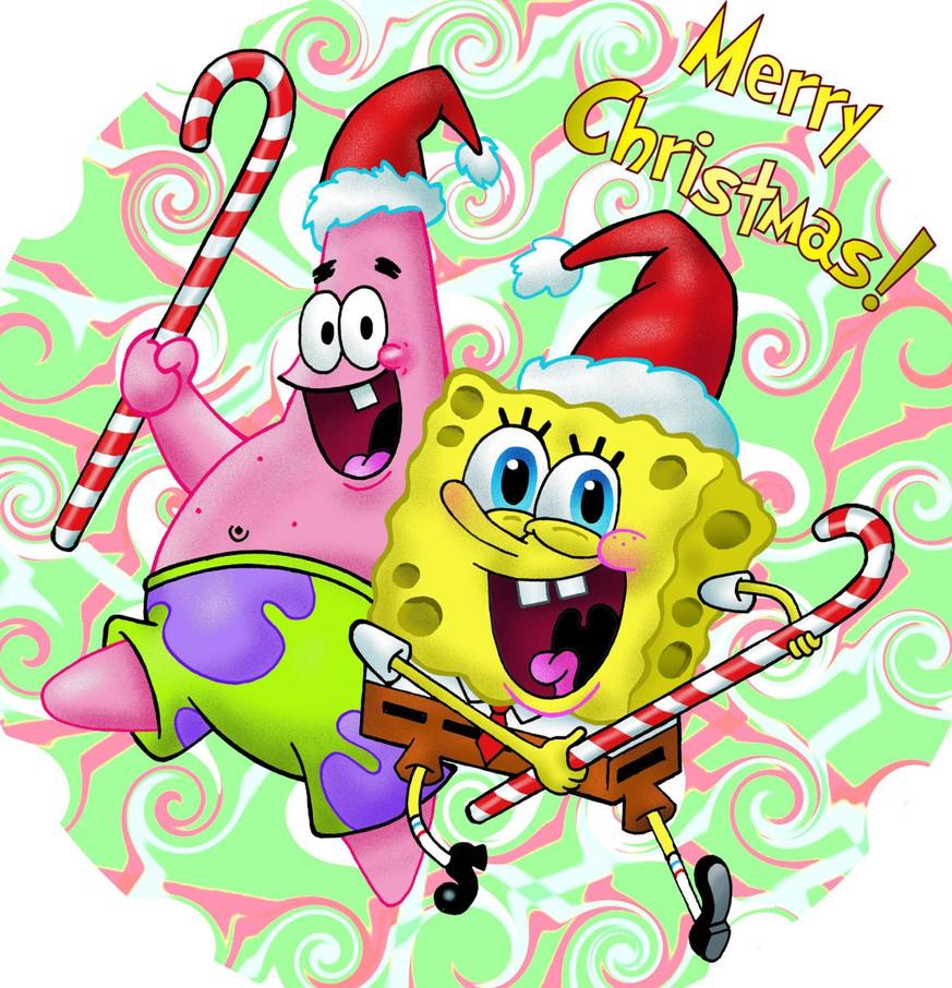 Spongebob und Patrick mit 10 Weihnachts-Geschenken für Fans der ...