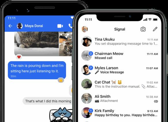 WhatsApp: Dieser Chat zeigt, welche Messenger-App, welche