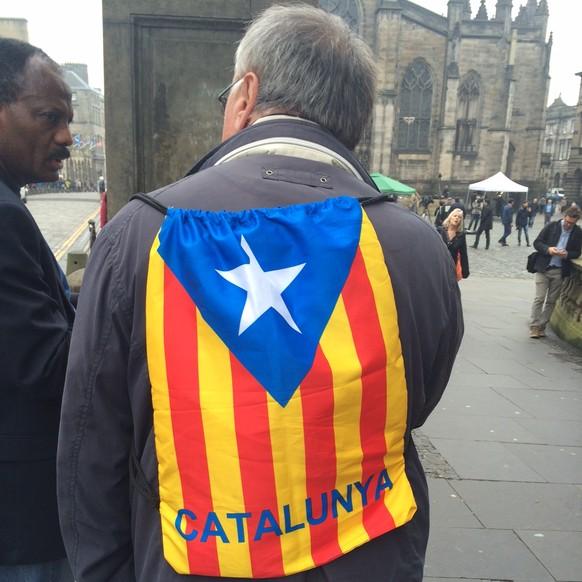 Katalanischer Separatist Schottland