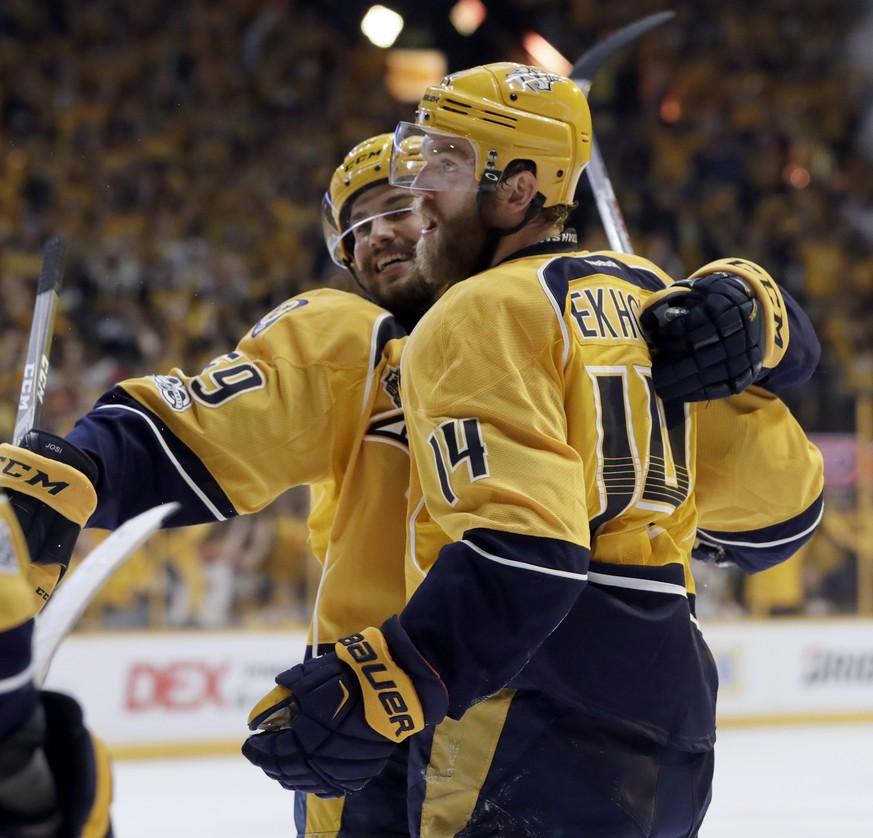 Eishockey: Nashville verkürzt mit Sieg im Stanley-Cup-Finale