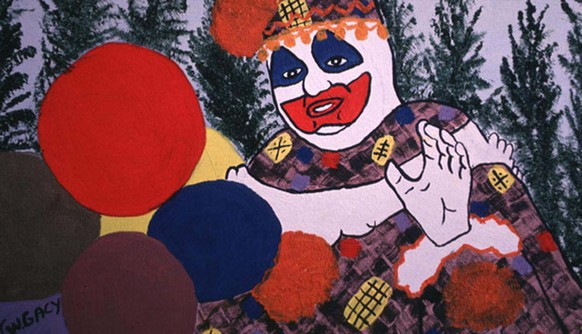 John Wayne Gacy Kunst amssenmörder serial killer art http://edition.cnn.com/2011/US/05/13/serial.killer.art/