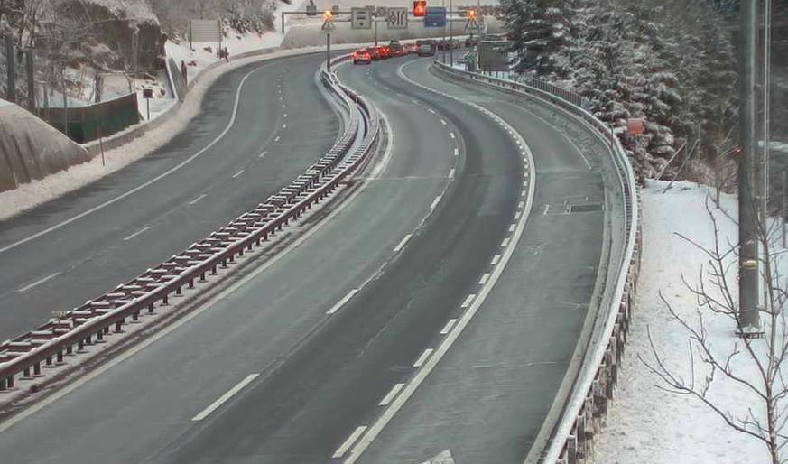 Tote und Verletzte bei Unfall im Gotthard-Tunnel