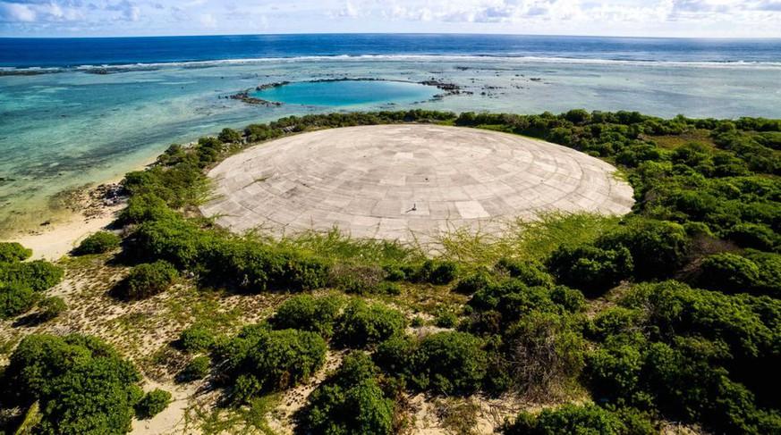 Dieses nukleare Grab droht gerade, in den Pazifik auszulaufen