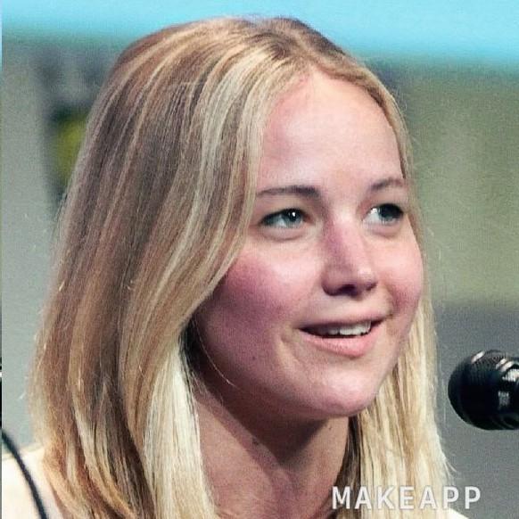 Jennifer Lawrence Ungeschminkt