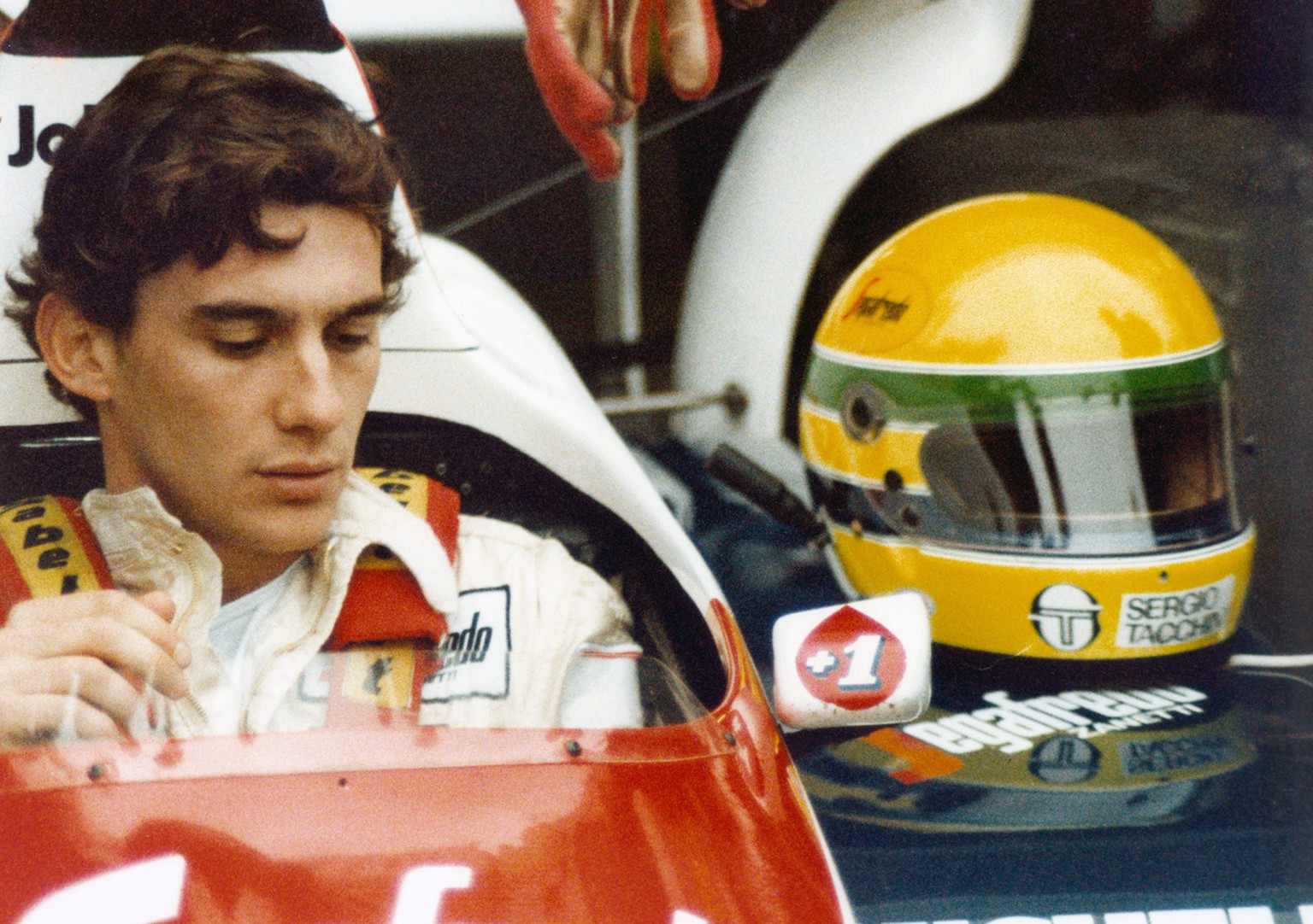 In this image released by Universal Pictures, Ayrton Senna is shown in a scene is shown from