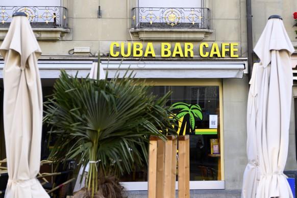 SCHWEIZ BERN CLUB CUBA BAR