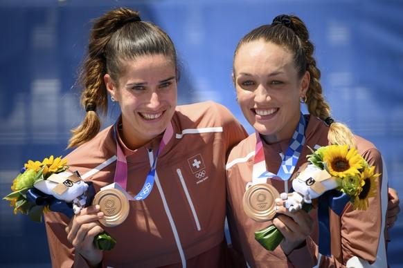 <strong>Joana Heidrich/Anouk Vergé-Dépré, Bronze</strong> Beachvolleyball