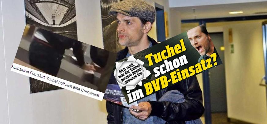 Die Bild Deckt Auf Wir Entschlusseln Mit Diesen Funf Hinweisen Verrat Thomas Tuchel Seinen Wechsel Zum Bvb Watson