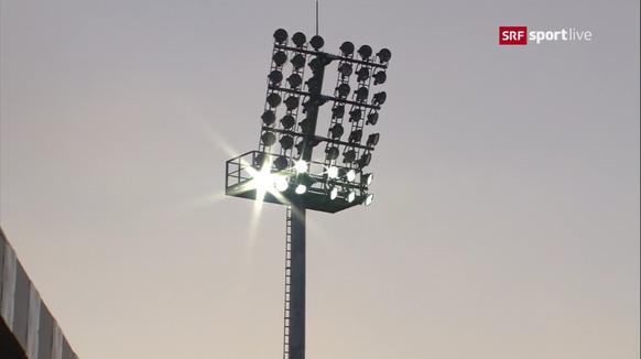 Lichtanlage Litauen EM-Qualispiel