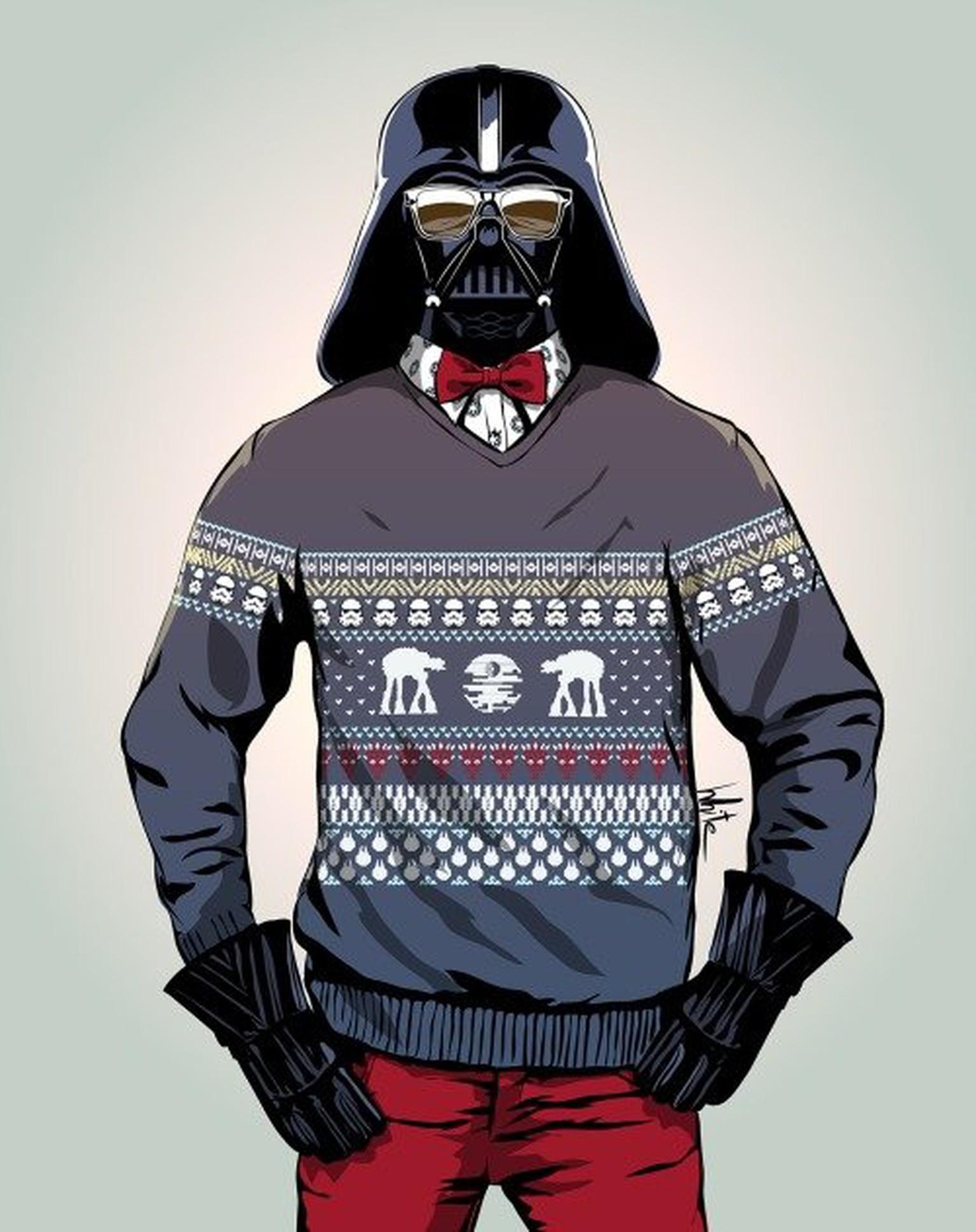 Also wenn Darth Vader nicht zum Fürchten ist