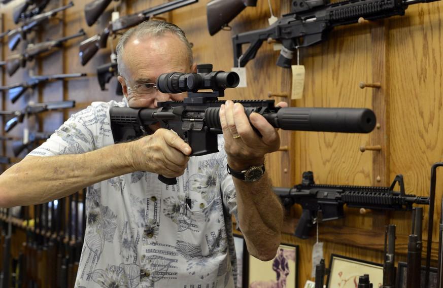 Das «Massaker-Gewehr» AR-15 steht vor dem Aus