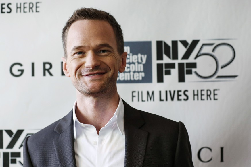 Actor Neil Patrick Harris attends the 52nd New York Film Festival opening night gala presentation of the movie