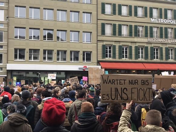 Klimademo Bern, 2.2.2019