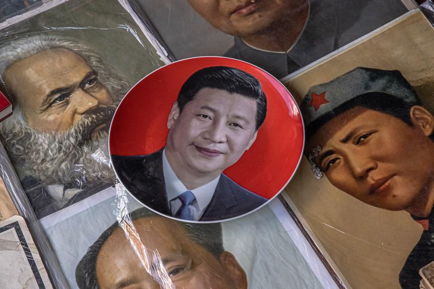 Sieht sich in der Tradition von Mao, Marx und Lenin: Präsident Xi Jinping.