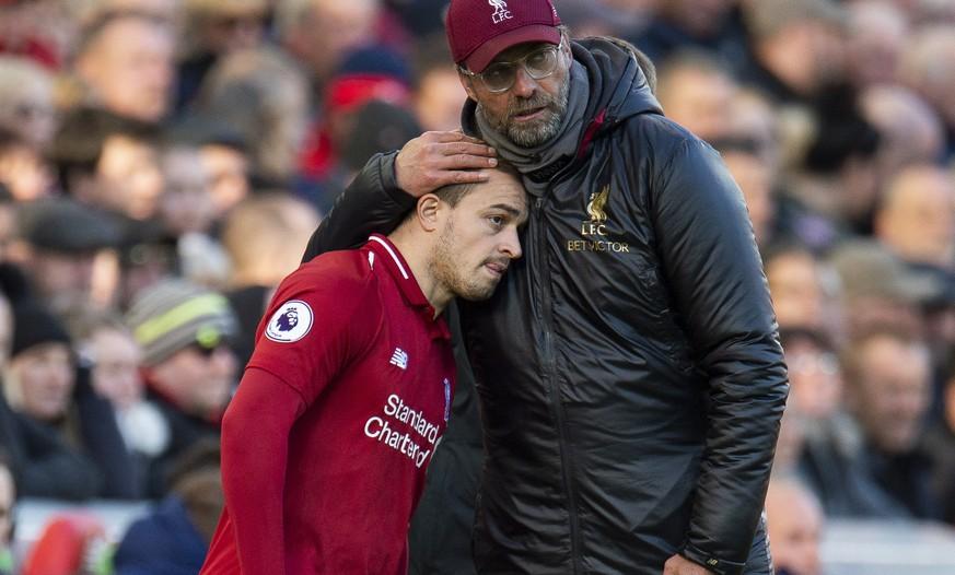 Klopp erklärt, weshalb Shaqiri in Liverpool kaum mehr zum Einsatz kommt