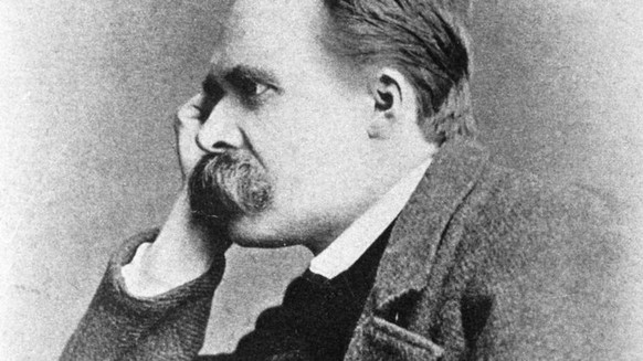 Portrait du philosophe allemand Friedrich Nietzsche (1844 - 1900). !AUFNAHMEDATUM GESCHƒTZT! PUBLICATIONxINxGERxSUIxAUTxHUNxONLY CHD5172Portrait you Philosophe Allemand Friedrich Nietzsche 1844 1900 date estimated PUBLICATIONxINxGERxSUIxAUTxHUNxONLY CHD5172