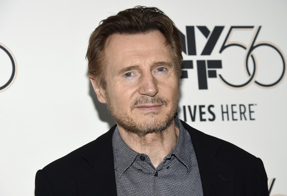 Actor Liam Neeson attends the premiere for