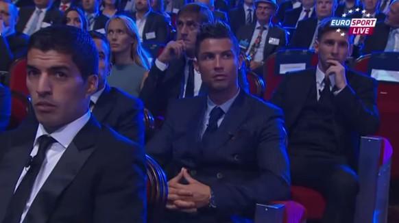 Messi Ronaldo Suarez