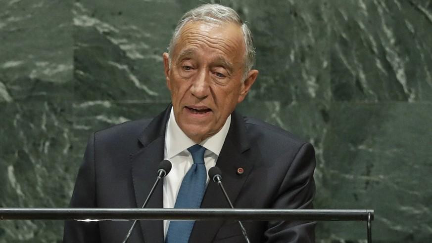 Prognosen: Portugals Präsident Rebelo mit Kantersieg wiedergewählt