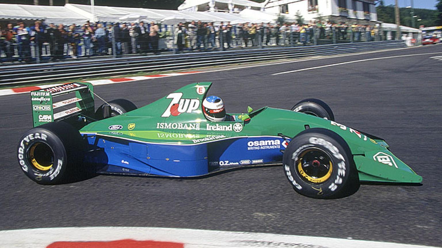 Erstes Formel 1 Rennen