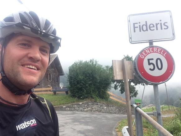 Die erste Gemeinde der 7. Etappe: Fideris.