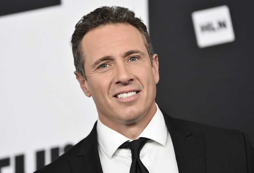 FILE - In this May 16, 2018 file photo, Chris Cuomo attends the Turner Networks 2018 Upfront in New York.  Cuomo will start his own two-hour radio show next Monday at noon on SiriusXM. The company said Wednesday that Cuomo's weekday show will air on its nonpartisan P.O.T.U.S. channel. (Photo by Evan Agostini/Invision/AP, File)