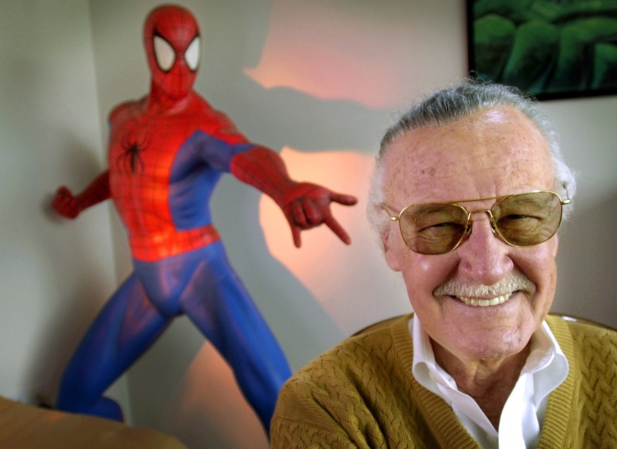 FILE - In this April 16, 2002, file photo, Stan Lee, 79, creator of comic-book franchises such as