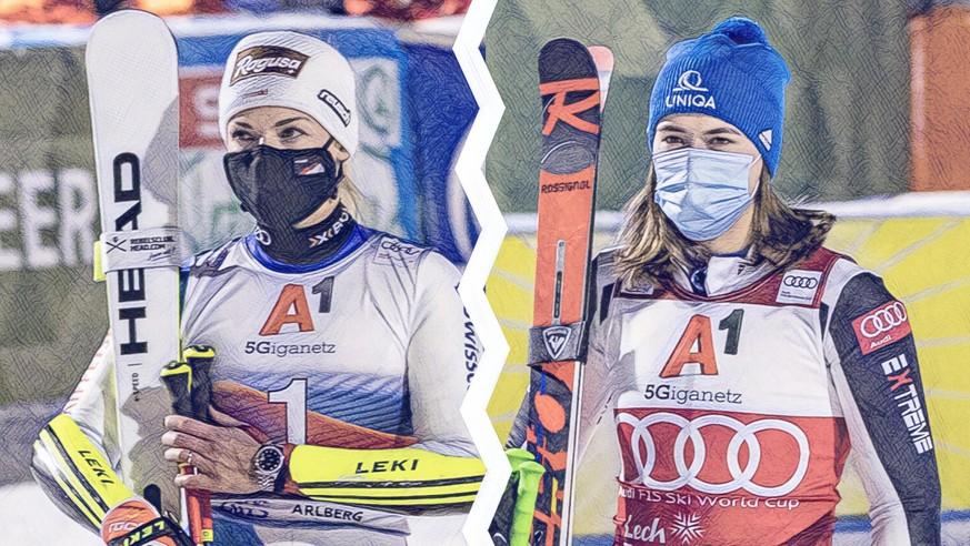Ski: Lara Gut-Behrami und Petra Vlhova duellieren sich um den Sieg im Gesamtweltcup