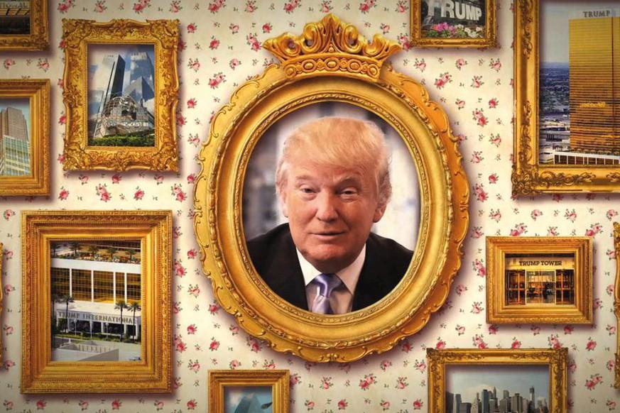 Das war Donald noch peinlicher als seine Frisur: Die Trumps kommen ...
