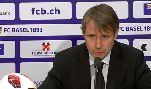 Bernhard Burgener FC Basel