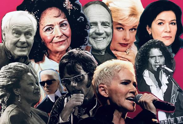 Nehmen wir Abschied von Köbi Kuhn, Toni Morrison, Karl Lagerfeld, Peter Fonda, Marie Fredriksson, Costa Cordalis, Hannelore Elsner, Doris Day, Bruno Ganz, Uriella und vielen mehr...