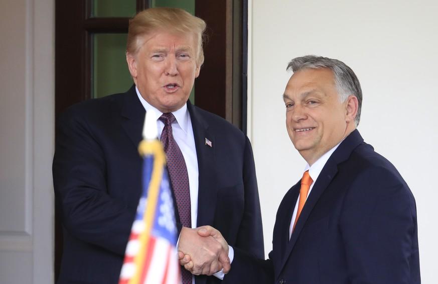 Warum Trump Viktor Orban im Oval Office empfangen hat