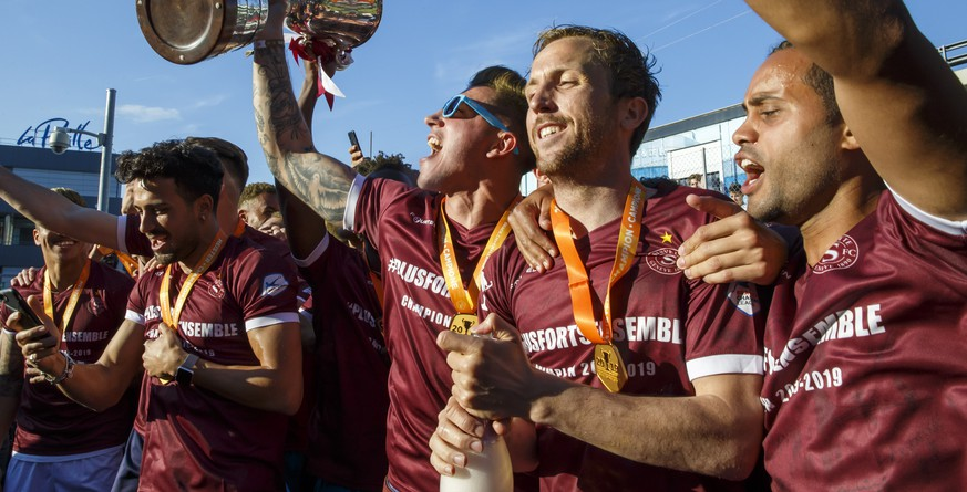 Super League: Aufsteiger Servette Genf träumt jetzt bescheiden