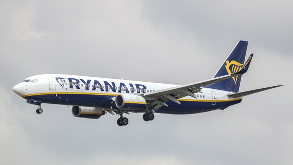 epa07719815 (FILE) -  A Boeing 737 Next Gen of Irish low-cost carrier Ryanair approaches for landing at the airport of Frankfurt, Germany, 21 June 2019, reissued 16 July 2019. Media reports state that Ryanair will be forced to cut the number of summer flights it operates nin 2020 as it predicted further delays before the Boeing 737 Max is allowed to fly again. Ryanair has 58 planes on order.  EPA/ARMANDO BABANI *** Local Caption *** 55287624